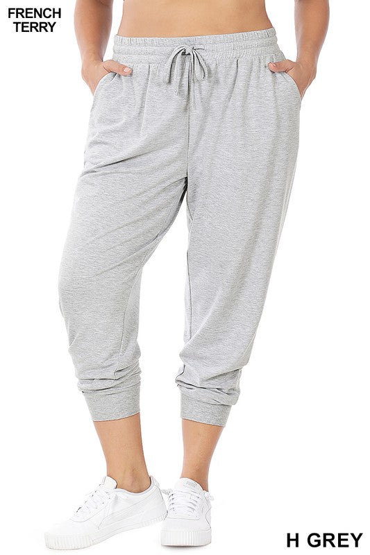 Relaxed Everyday Jogger - Heather Grey