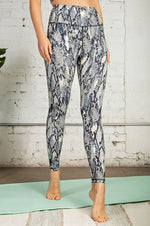 Sassy Snakeskin Buttery Soft Leggings Bottoms - Kasey Leigh Boutique