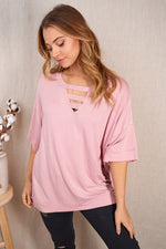 Ellie Tunic in Washed Blush