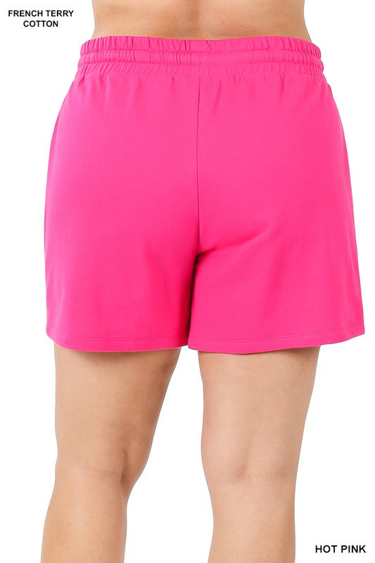 Everyday Shorts - Hot Pink Bottoms - Kasey Leigh Boutique