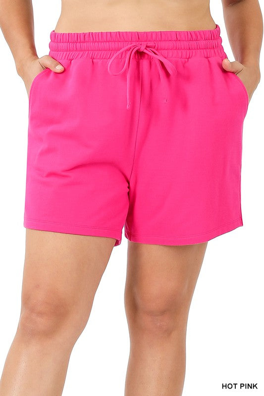 Everyday Shorts - Hot Pink