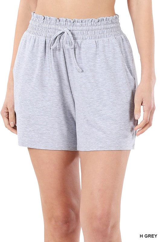 The Jersey Short - Heather Grey