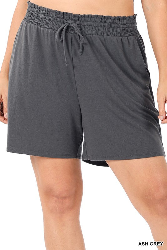 The Jersey Short - Ash Grey