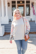 It's A Spring Thing Striped Top Tops/Tunics - Kasey Leigh Boutique