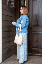 Turning A New Leaf Palazzo Pants - Kasey Leigh Boutique