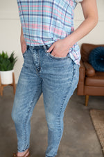 All Washed Up Acid Mineral Wash Judy Blue Jeans Bottoms - Kasey Leigh Boutique