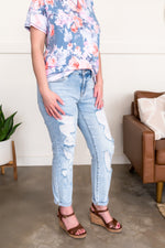 Blue Jean, Baby Queen Boyfriend Judy Blue's Bottoms - Kasey Leigh Boutique