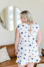 When The Stars Go Blue Romper Bottoms - Kasey Leigh Boutique