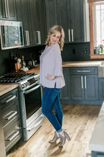 Sweetness And Light Top In Soft Lavender Tops/Tunics - Kasey Leigh Boutique