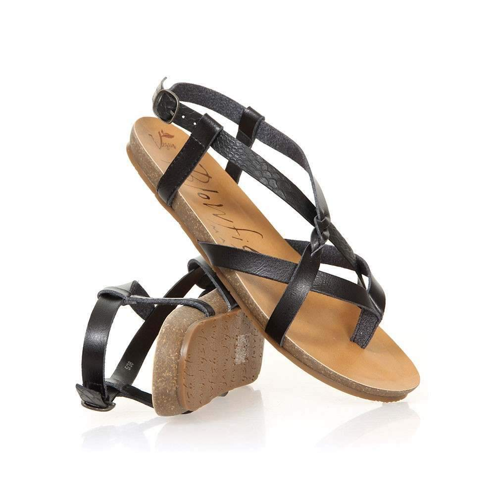 Blowfish Granola-B Sandals in Snake Charmer