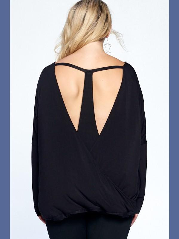 Bringing Sexy Back in Black-Tops/Tunics-Kasey Leigh Boutique