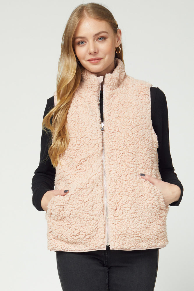 Snow Bunny Reversible Vest