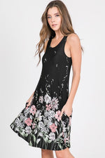 May Flowers Swing Dress - Kasey Leigh Boutique