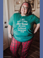 Red Plaid Flannel Lounge Pants - Kasey Leigh Boutique