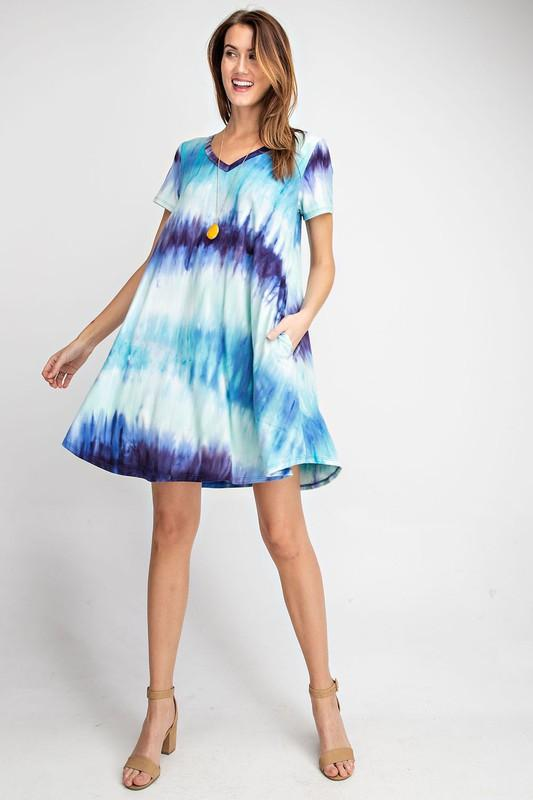 Sea to Sky Swing Dress