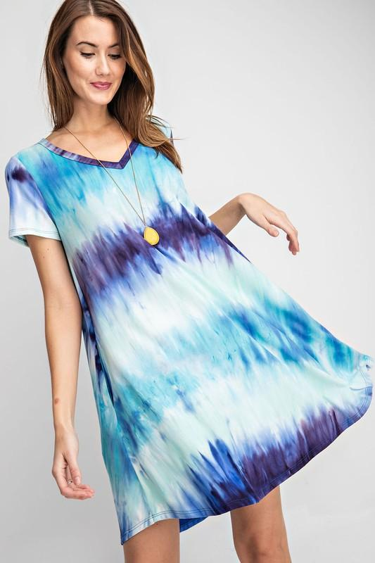 Sea to Sky Swing Dress - Kasey Leigh Boutique