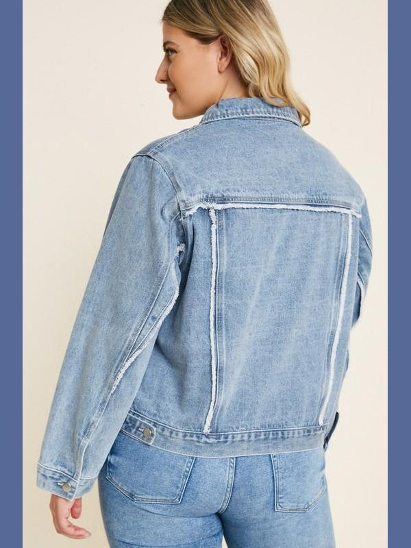 Trucker Girl Denim Jacket