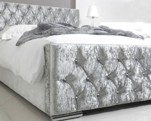 Luxury Crushed Velvet Bed Frame