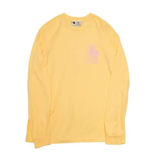 Garment Dyed S/S Tee No. 001 Butter