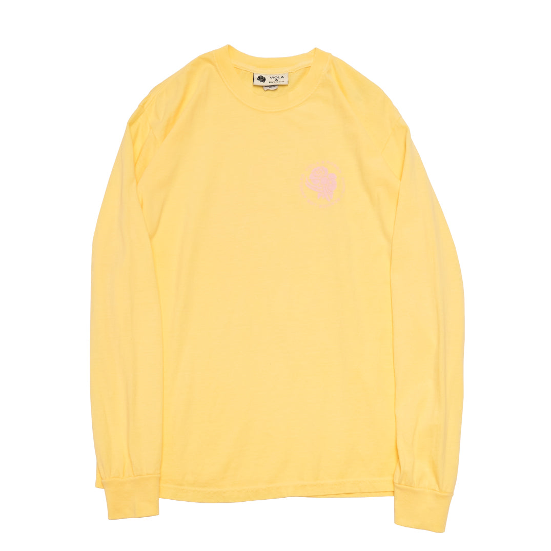Garment Dyed L/S Tee No. 002