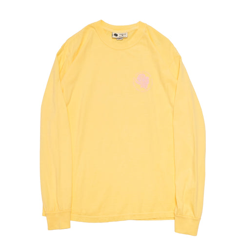 Garment Dyed S/S Tee No. 002 Butter