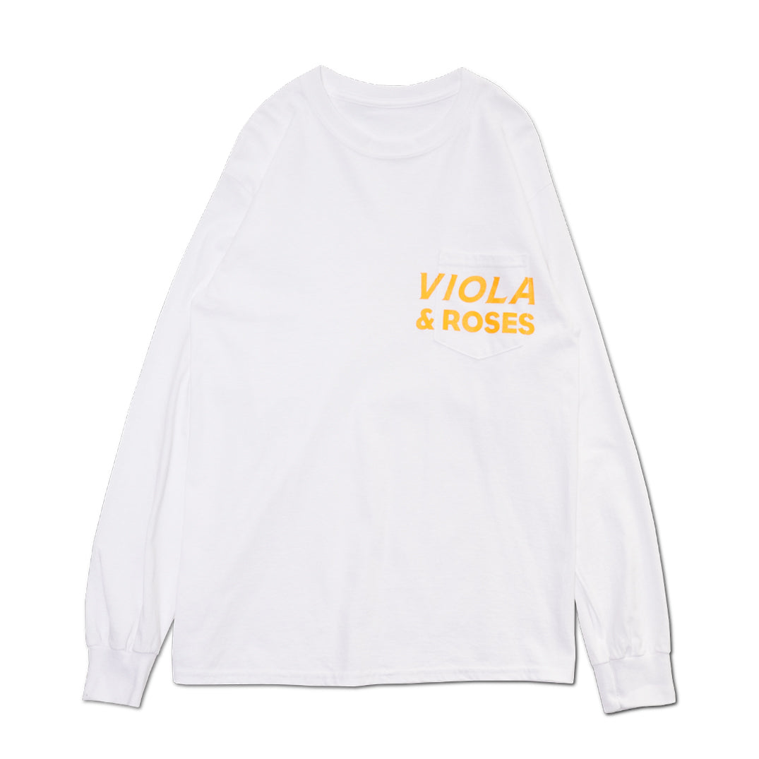 AUTOMATIC LOGO L/S TEE YELLOW