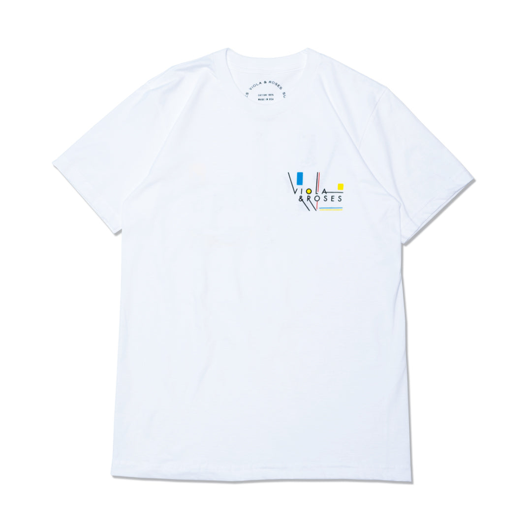 MC TYPO S/S T-shirts White