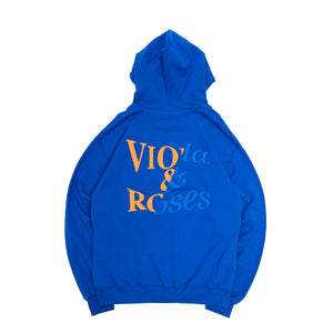 Cracked Concrete Hoodie Royal Blue