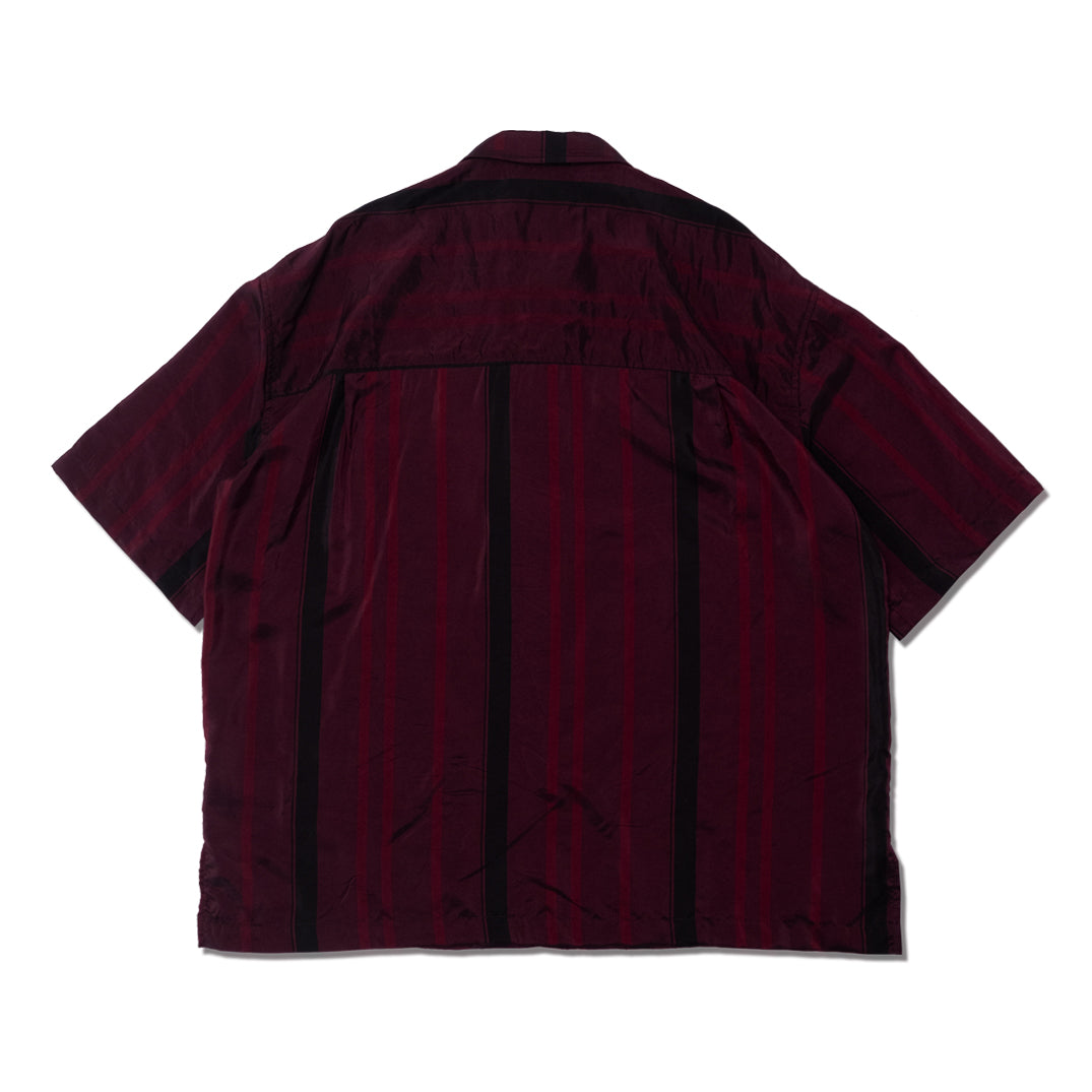 CUPRO S/S BUTTON SHIRT ROSE