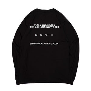 HAVING FUN L/S TEE BLACK