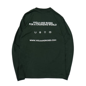 HAVING FUN L/S TEE GREEN