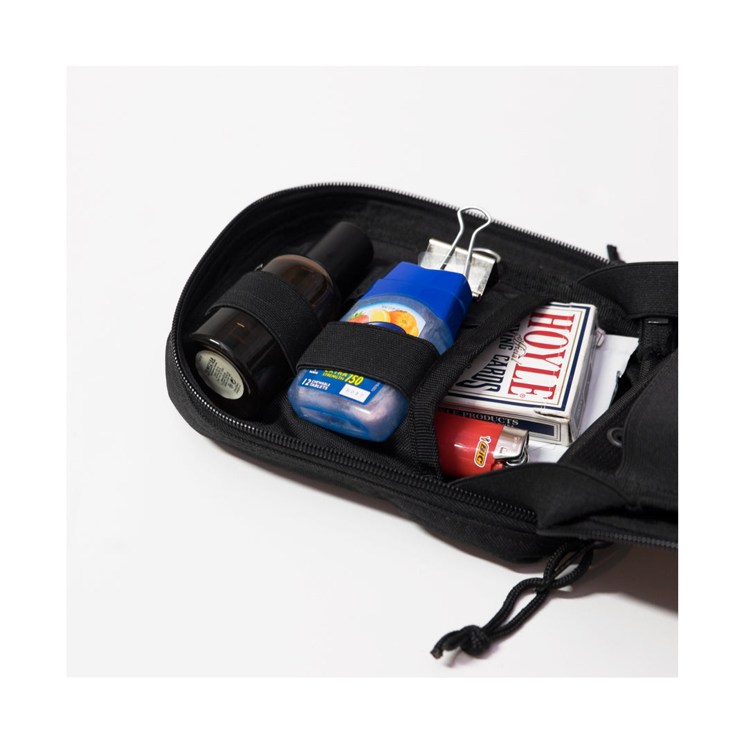 First Aid Kit Pouch Black