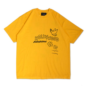 HOLLYWOOD HAND DRAWING S/S TEE