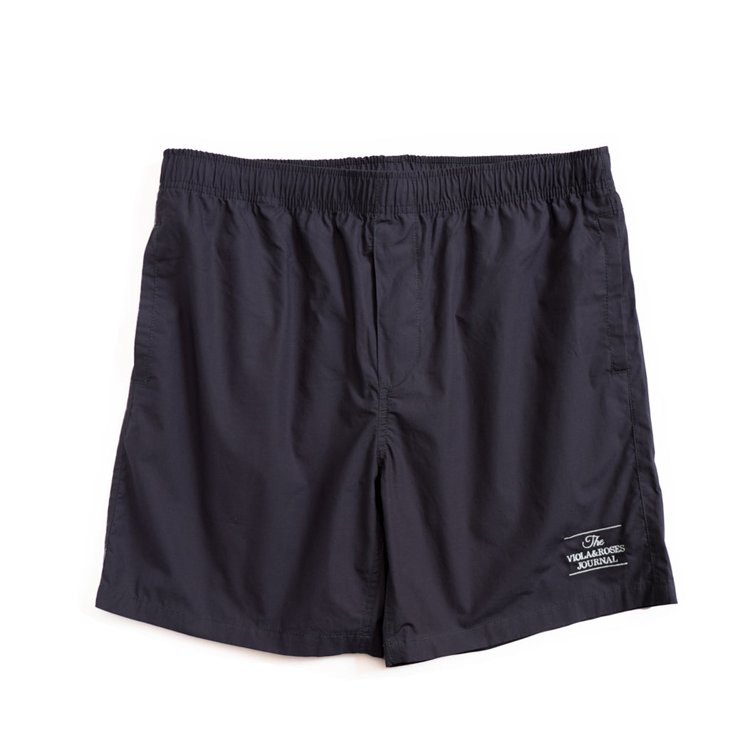 The V&R Journal S/S Beach Shorts Navy