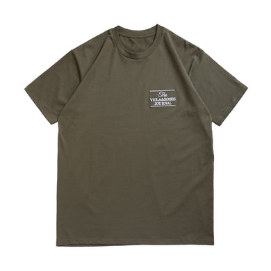 The V&R Journal S/S T-shirt Army