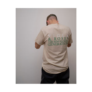 THE NEW FLOWER GENERATION S/S POCKET TEE SAND
