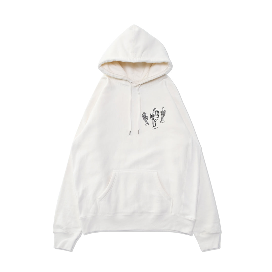 RODEO HAND DRAWING HOODIE BONE