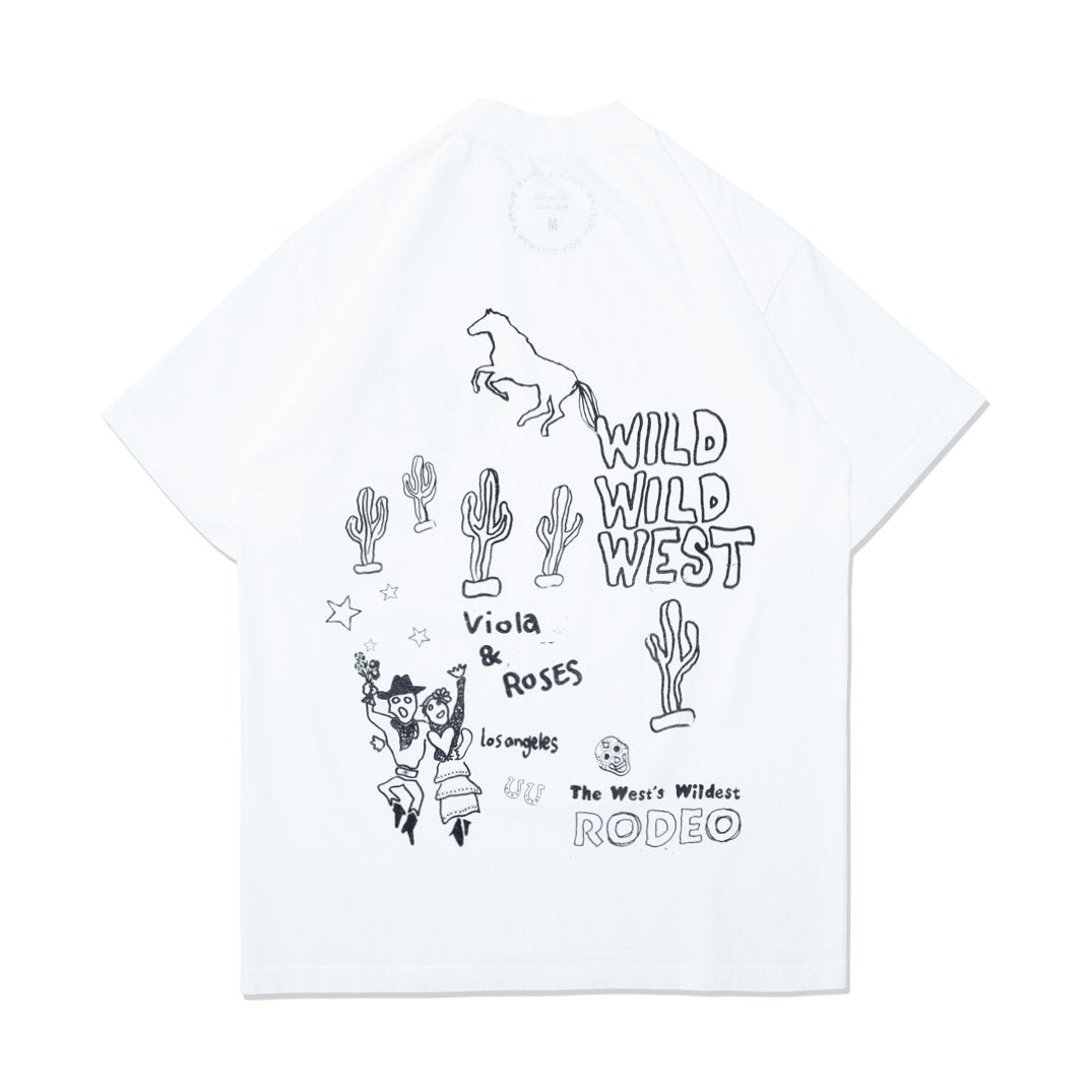 RODEO S/S TEE SHIRT OFF WHITE
