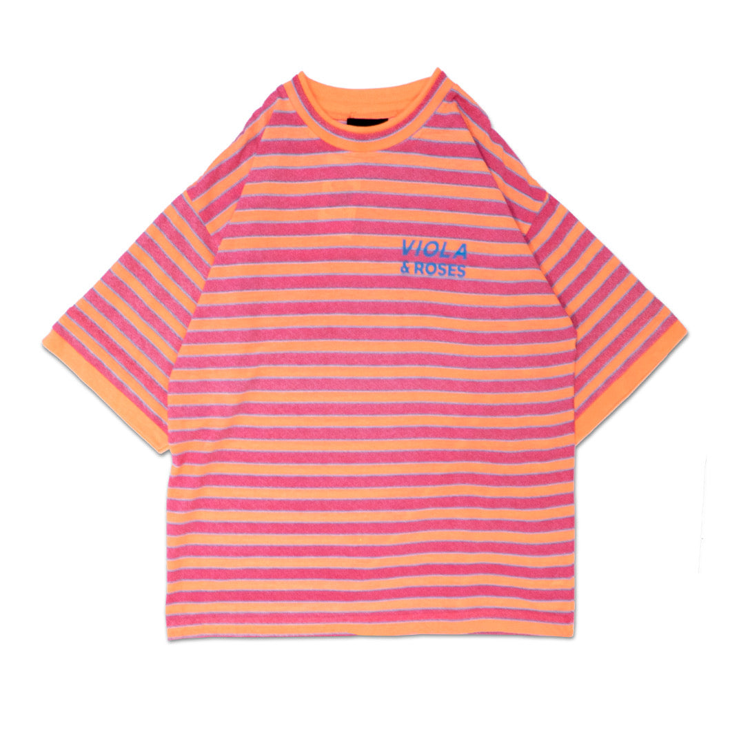 AUTO LOGO OASIS S/S TEE SHIRTS PINK