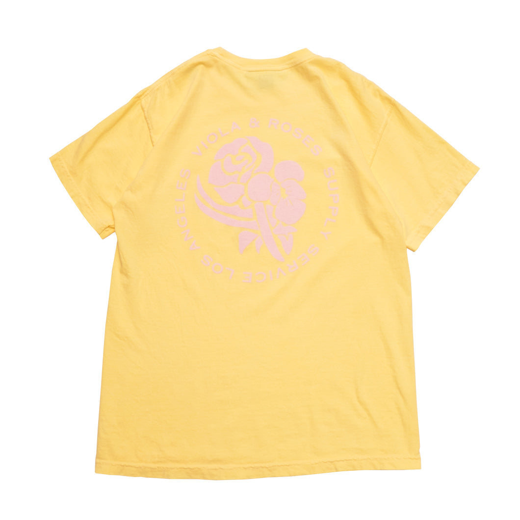 Garment Dyed S/S Tee No. 001