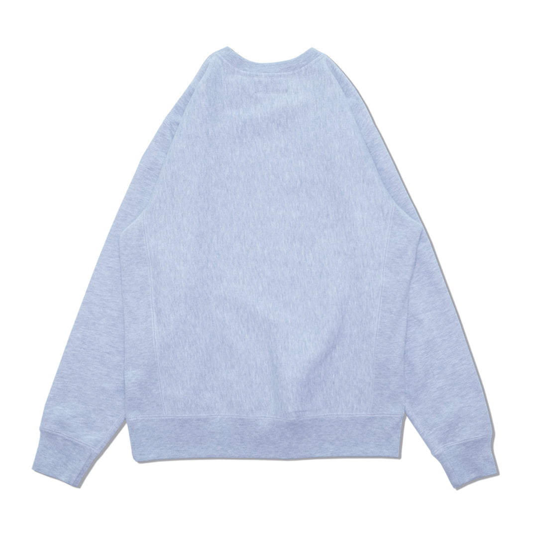 VAR EMBROIDERED CREWNECK SWEATSHIRT GREY