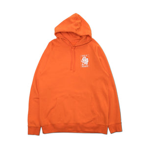 VIOLA EMBROIDERED HOODIE ORANGE