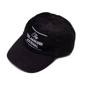 The V&R Journal Corduroy Hat Black