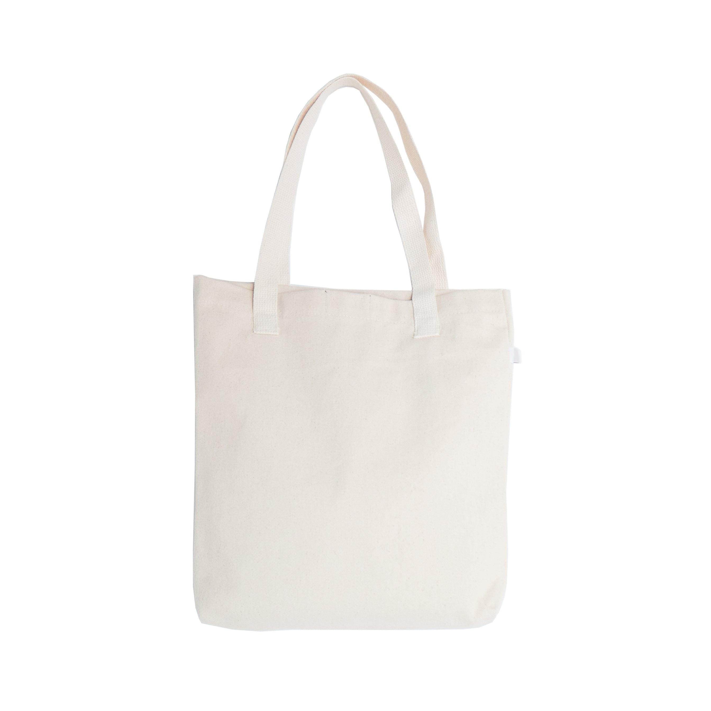 Logo Canvas Tote Bag
