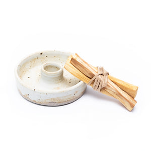 CERAMIC PALO SANTO / INCENSE HOLDER