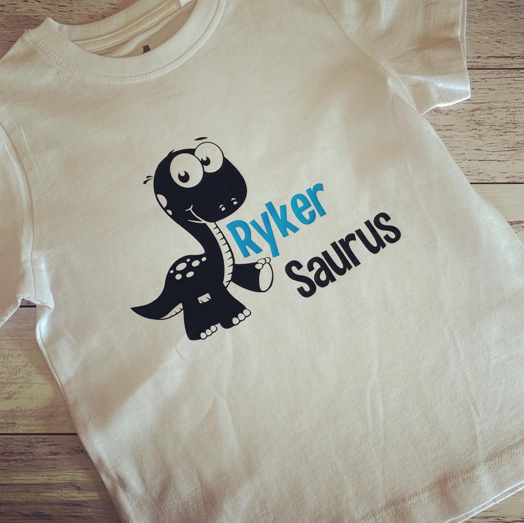 Kids Personalised Dino T