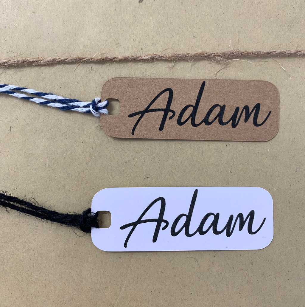 Name Tags - Personalised (10pk)