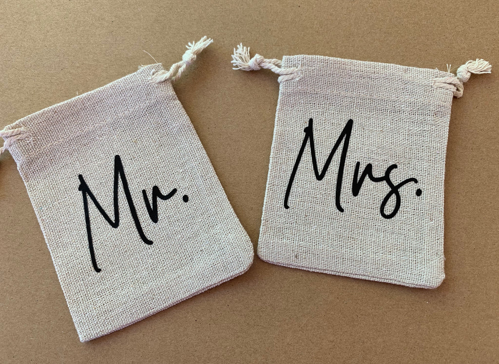 Mr & Mrs Ring Bags