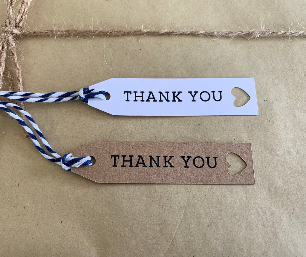 Thank You Tags (10pk)