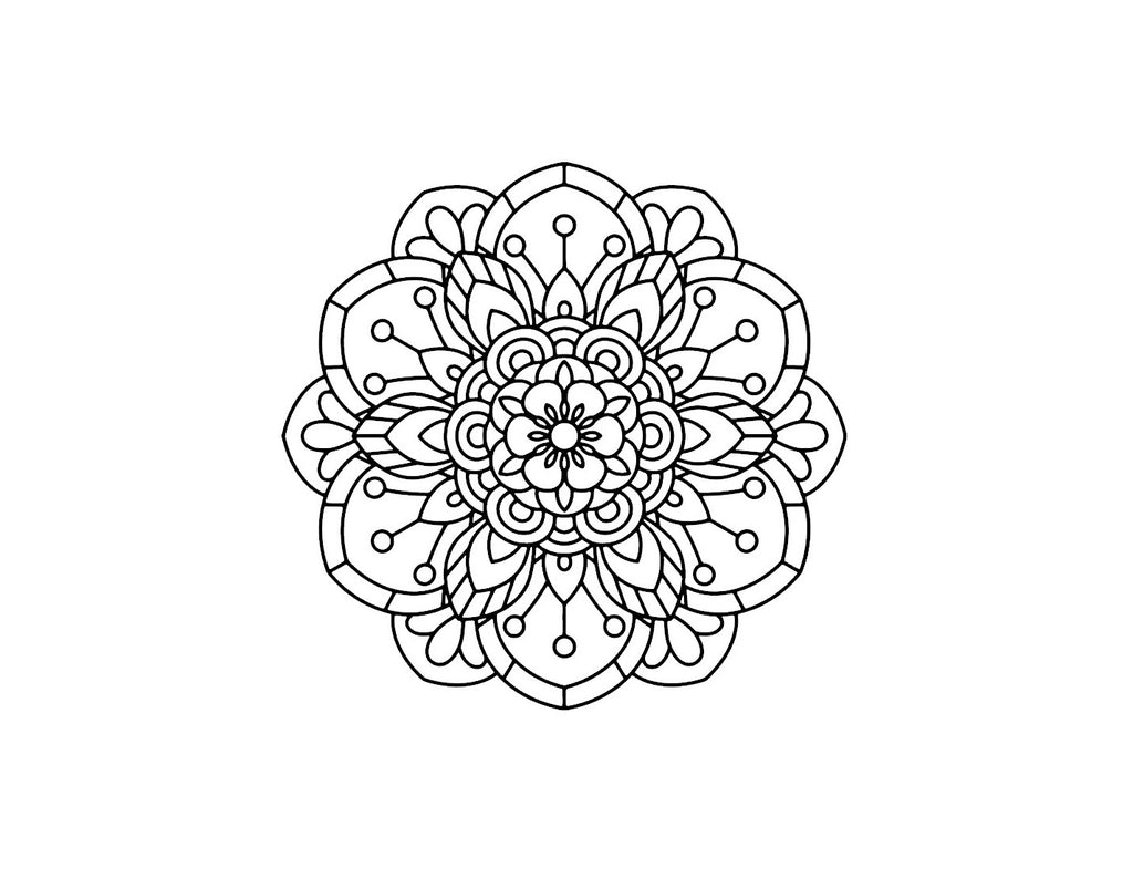 Mandala Decals